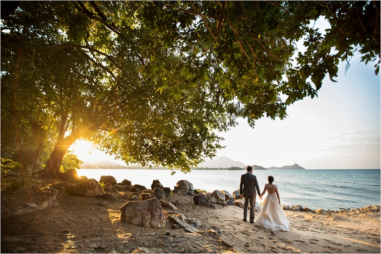 Waiheke Island Beach Wedding Photography